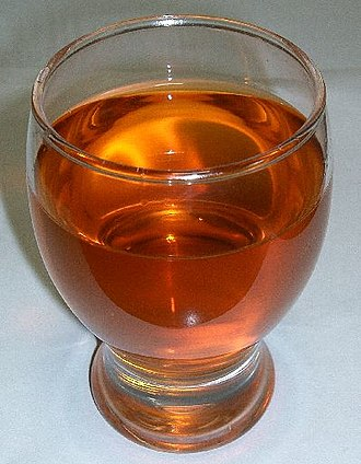 Rooibos - Rooibos tea in a glass