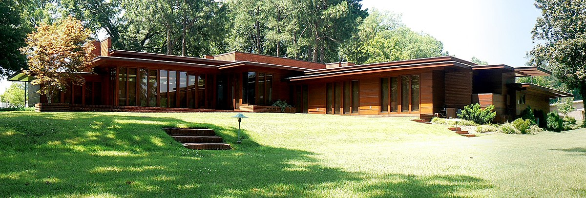 Rosenbaum house wikip dia a enciclop dia livre for Frank lloyd wright usonian home plans