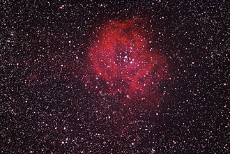 Rosette Nebula - Image: Rosette nebula 09 01 2005