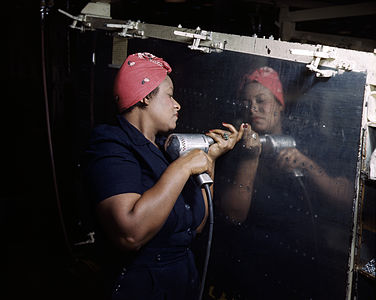 Rosie the Riveter, original version