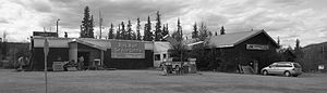 Ross River, Yukon - Ross River service centre