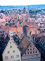 Rothenburg - East to Rödertor (3267202130).jpg