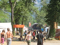 Una vista del Rototom Sunsplash