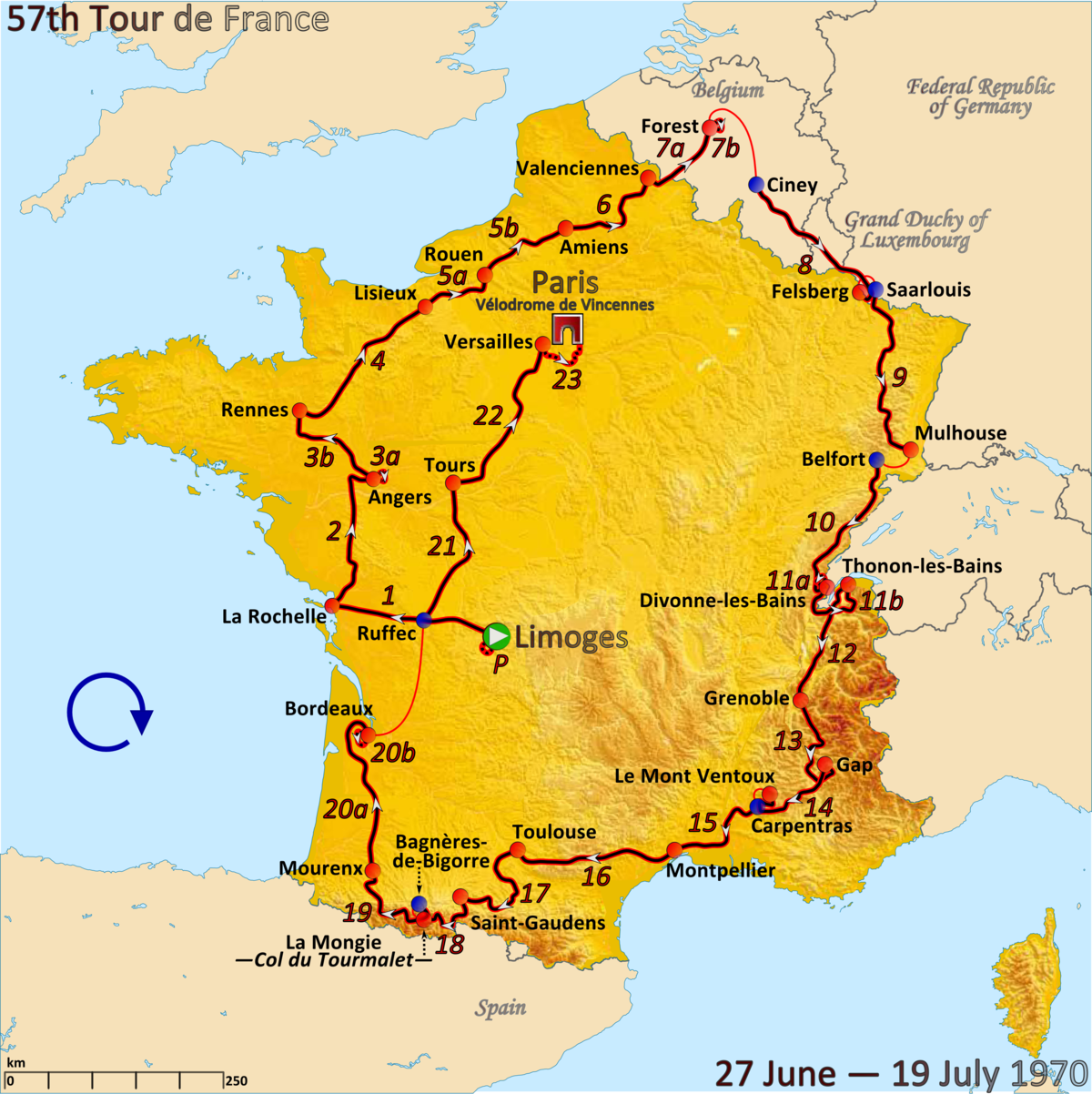 1970 Tour De France Wikipedia