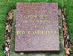 Roy Castle memorial plaque, St Luke's.jpg