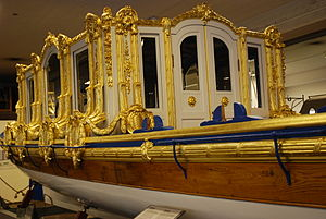 Order of Vasa - Image: Royal barge Vasaorden