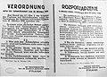Rozporządzenie Hansa Franka o zakazie uboju rytualnego z dnia 26 października 1939.jpg