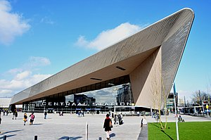 Rotterdam Centraal station - The station building in February 2014