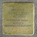Rubel Izidor stolperstein (Budapest-02 Kelemen László u 8A).jpg
