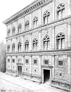 Palazzo Rucellai - Palazzo Rucellai.