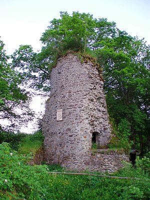 Königsburg - The keep of Königsburg Castle