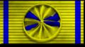 Ruotsin miekkaritarikunnan 1. lk. ritarimerkki.png