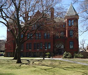 New Jersey Agricultural Experiment Station - New Jersey Hall, located on Voorhees Mall on Rutgers' College Avenue Campus, was built in 1889 to house the Agricultural Experiment Station.