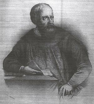 Ruy González de Clavijo - An imaginary portrait of Ruy González de Clavijo, in a 19th-century engraving