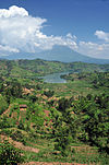 A photograph of northwestern Rwanda