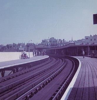 Ryde Esplanade railway station - Image: Ryde Esplanade Railway station 1971