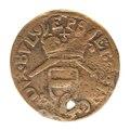 Ryskt mynt av koppar,1810. Två kopek - Skoklosters slott - 108165.tif