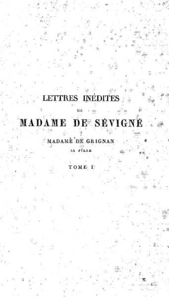 File:Sévigné Lettres édition Capmas 1876 tome 1.djvu