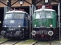 Süddeutsches Eisenbahnmuseum Heilbronn - Schnellzugloktreffen 042 - Flickr - KlausNahr.jpg