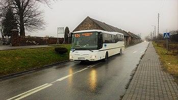 Sławków, autobus 634