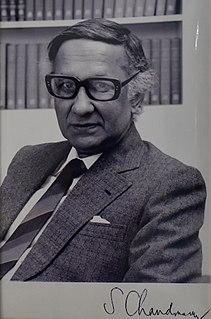 Sivaramakrishna Chandrasekhar Indian physicist (1930–2004)