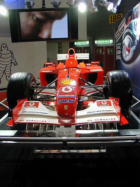 2005 Ferrari F2005. Photo from:ferrari f2005 2005