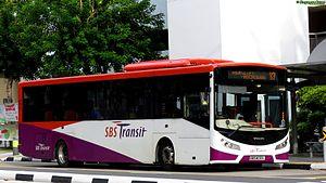 Volvo B7RLE - SBS Transit's Volvo B7RLE Demonstrator