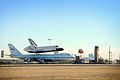 SCA and Endeavour taxies at NAS JRB, Fort Worth, 2008.jpg