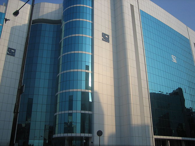 English: SEBI Bhavan, Head Office of Securitie...