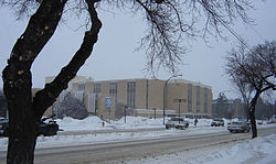 Kelsey campus of SIAST. Central Industrial, Lawson SDA, Saskatoon