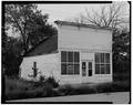 SOUTHWEST ELEVATION - W. W. Dwight's Jewelry Store, Elm Street, Niobrara, Knox County, NE HABS NEB,54-NIOB,2-2.tif