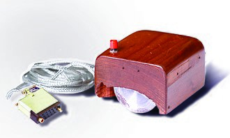Douglas Engelbart - Engelbart's prototype of a computer mouse, as designed by Bill English from Engelbart's sketches.