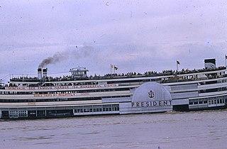 <i>President</i> (1924 steamboat) Historic American steamboat