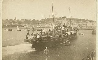 SS <i>Stella</i> (1890) Passenger ferry wrecked off the Casquets