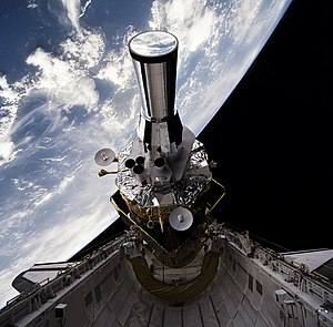 Electro-optical MASINT - DSP satellite deployment during STS-44