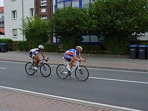 Sachsen Tour - 3. stage 2008: Escapee in Wurzen.