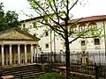 Sacred Oak Tree outside Basque Parliament Building - Basque Parliament Building - Gernika (Guernica) - Bascay - Spain (14441863607).jpg