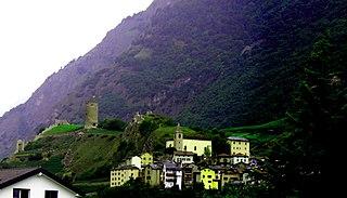 Saxon, Switzerland Place in Valais, Switzerland