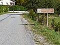 Saint-Firmin, Panneau Commune du parc national des Écrins.jpg