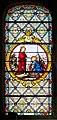 Saint-Pierre-Église Église de Saint-Pierre apôtre Baie 02 L'appel des apôtres Pierre et André 2016 08 21.jpg