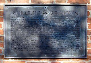 Ralph Sherwin English Roman Catholic martyr and saint