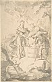 Saint Wenceslas at the Vintage, Attended by Angels and Putti MET DP803849.jpg