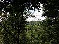 Sainte-Foy-lès-Lyon - Vue sur Oullins depuis le haut des arbres dans le parc City Adventures.jpg