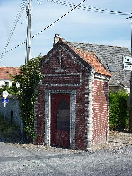 Sainte-Marie-Kerque (Pas-de-Calais) oratoire Rue Raepe