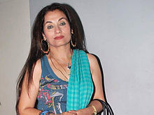 Salma Agha looks directly to the camera