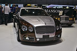 Build A Car >> Mansory - Wikipedia