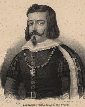 Salvador de Sá - Salvador Correia de Sá e Benevides