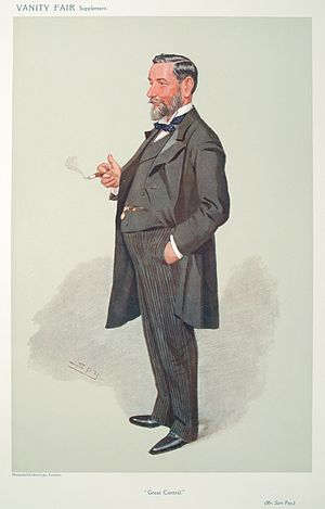Sam Fay - Caricature by Spy (1907)