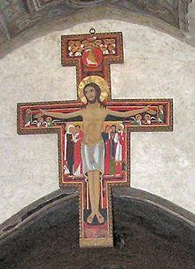 Copia del Crocifisso di San Damiano