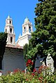 San Francisco, CA USA - Mission San Francisco de Asis (1776) Cemetery Garden and Mission Dolores Basilica (1918) - panoramio.jpg